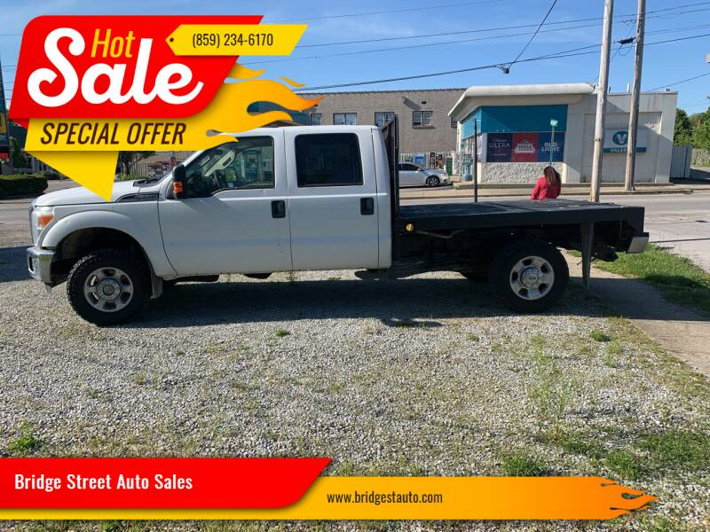 2012 Ford F-350 Super Duty for sale at Bridge Street Auto Sales in Cynthiana KY