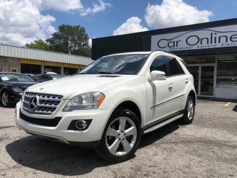 2011 Mercedes-Benz M-Class for sale at Car Online in Roswell GA