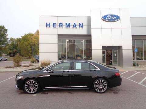 2017 Lincoln Continental for sale at Herman Motors in Luverne MN