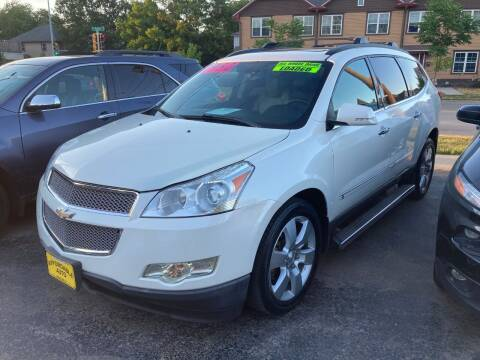 2012 Chevrolet Traverse for sale at AFFORDABLE AUTO, LLC in Green Bay WI