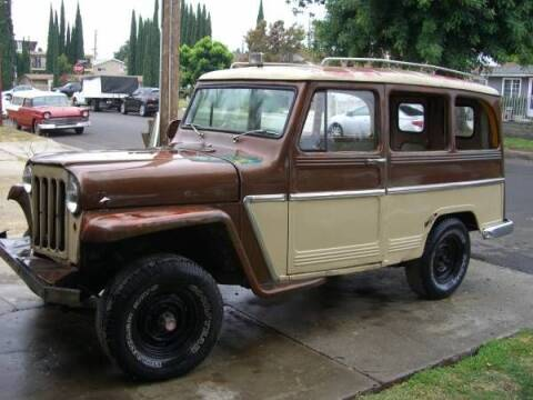 1961 Willys Overland for sale at Classic Car Deals in Cadillac MI