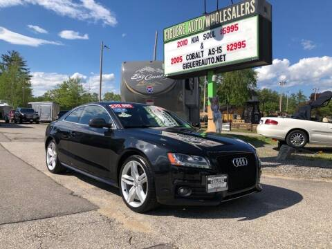 2010 Audi S5 for sale at Giguere Auto Wholesalers in Tilton NH