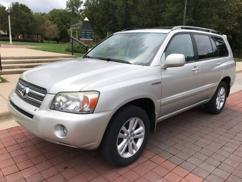 2007 Toyota Highlander Hybrid for sale at Third Avenue Motors Inc. in Carmel IN