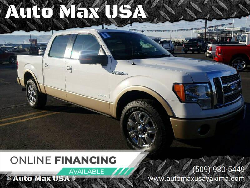 2011 Ford F-150 for sale at Auto Max USA in Yakima WA