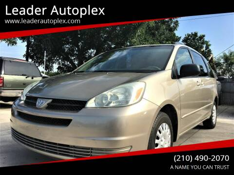 2005 Toyota Sienna for sale at Leader Autoplex in San Antonio TX
