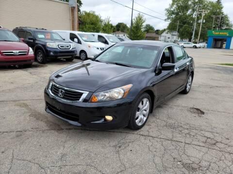 2008 Honda Accord for sale at MOE MOTORS LLC in South Milwaukee WI