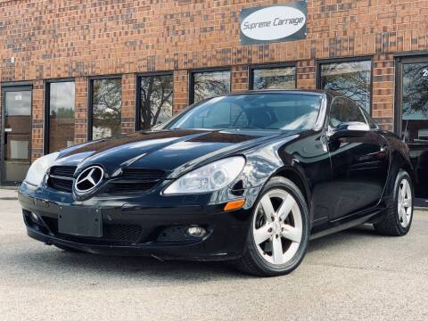 2006 Mercedes-Benz SLK for sale at Supreme Carriage in Wauconda IL