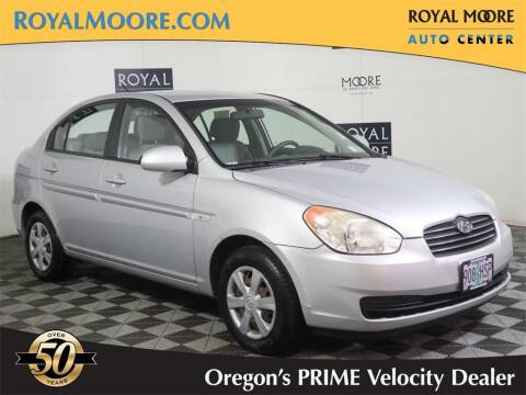 2007 Hyundai Accent for sale at Royal Moore Custom Finance in Hillsboro OR