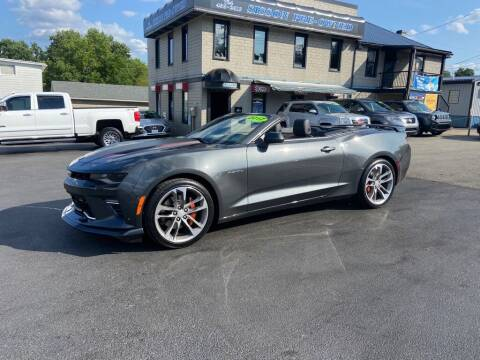 2017 Chevrolet Camaro for sale at Sisson Pre-Owned in Uniontown PA