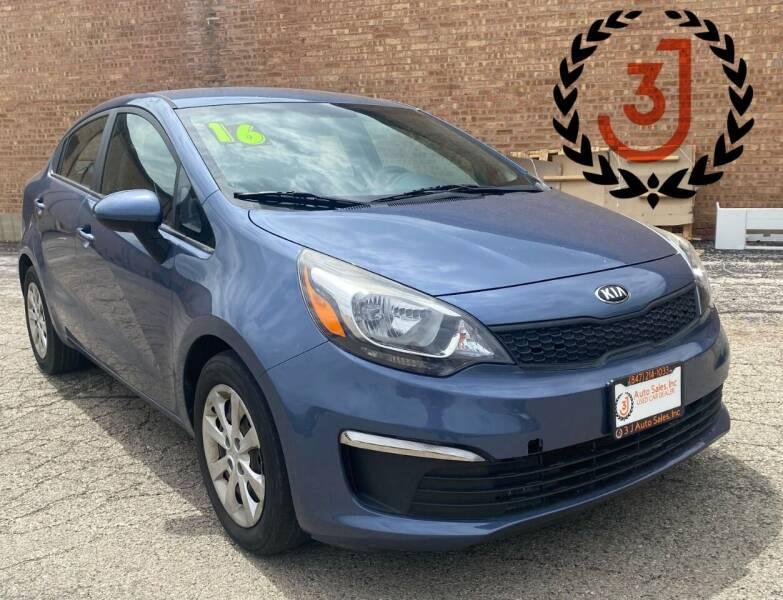 2016 Kia Rio for sale at 3 J Auto Sales Inc in Arlington Heights IL