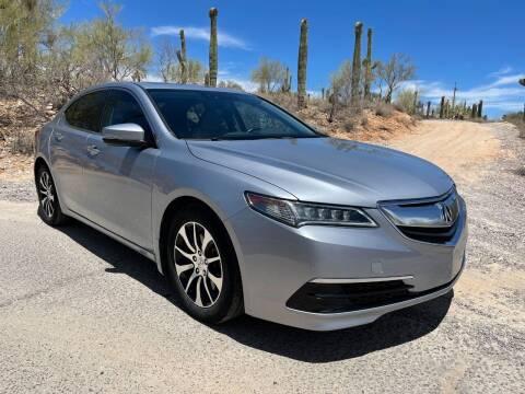 2015 Acura TLX for sale at Auto Executives in Tucson AZ