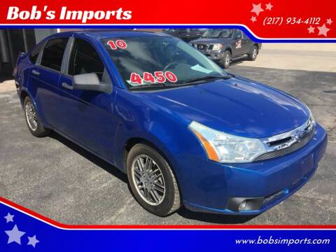 2010 Ford Focus for sale at Bob's Imports in Clinton IL