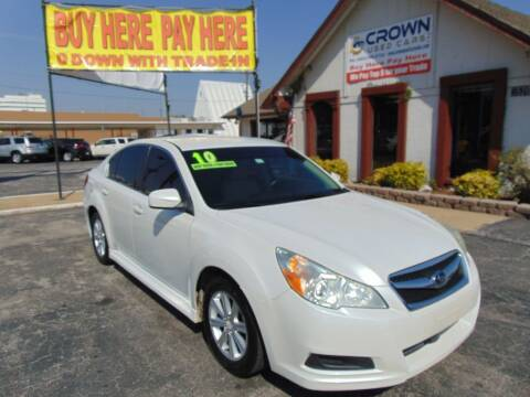 2010 Subaru Legacy for sale at Crown Used Cars in Oklahoma City OK