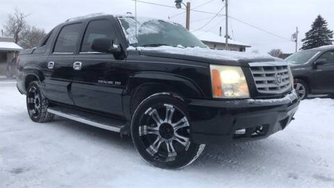 2004 Cadillac Escalade EXT for sale at WEINLE MOTORSPORTS in Cleves OH