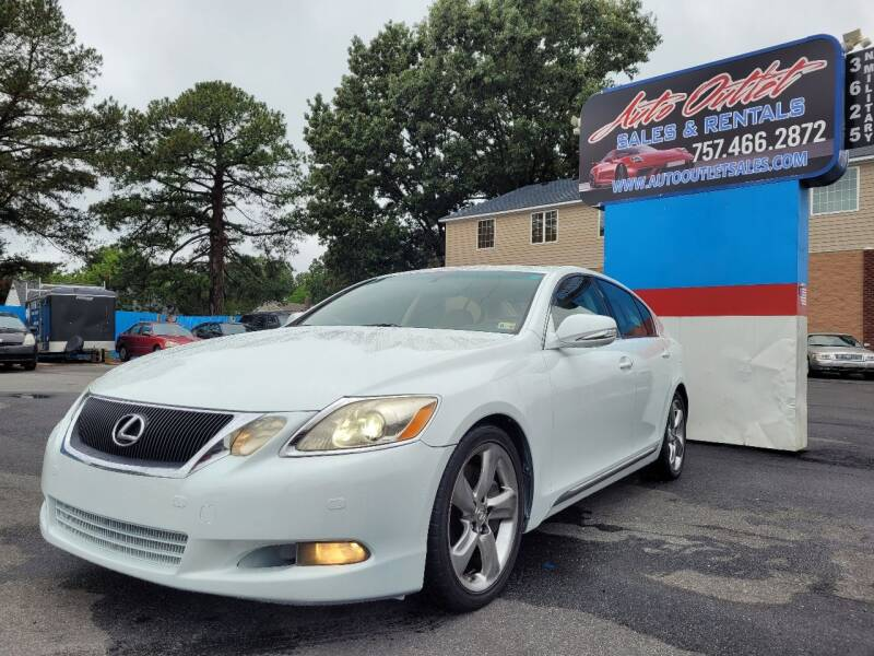 2008 Lexus GS 460 for sale at Auto Outlet Sales and Rentals in Norfolk VA