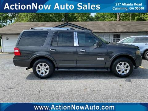 2007 Ford Expedition for sale at ACTION NOW AUTO SALES in Cumming GA