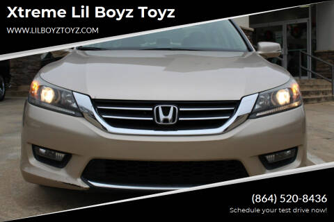 2015 Honda Accord for sale at Xtreme Lil Boyz Toyz in Greenville SC