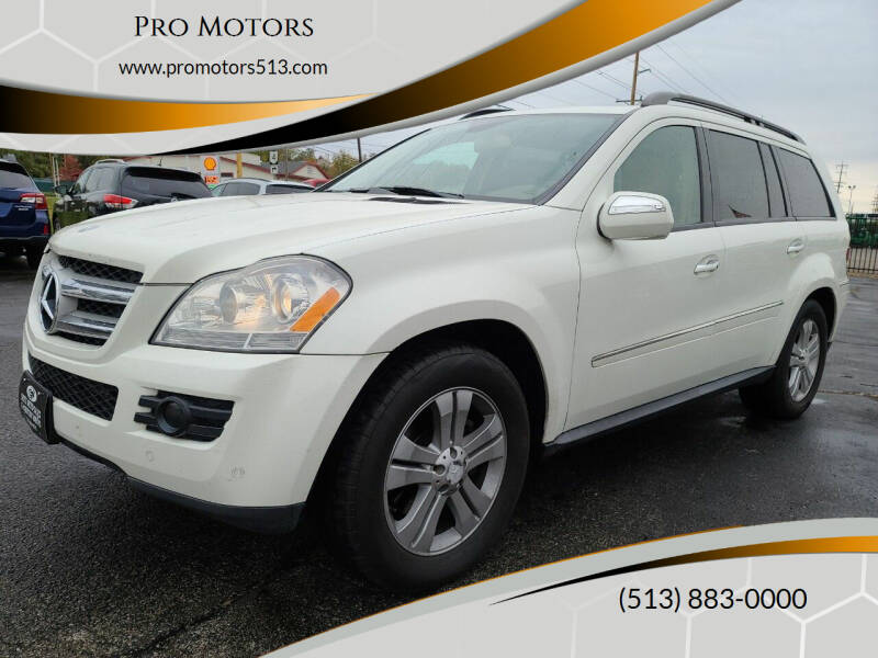 2009 Mercedes-Benz GL-Class for sale at Pro Motors in Fairfield OH