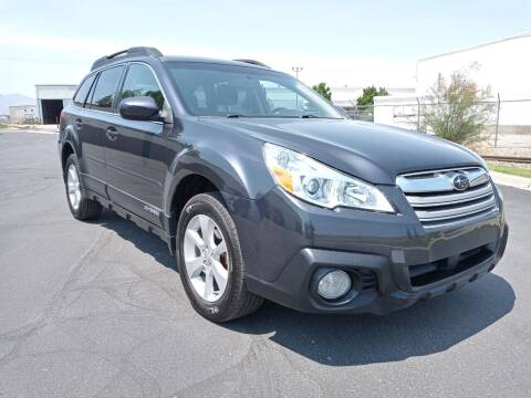2013 Subaru Outback for sale at AUTOMOTIVE SOLUTIONS in Salt Lake City UT