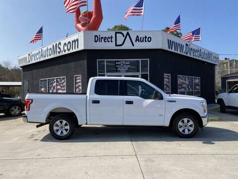 2017 Ford F-150 for sale at Direct Auto in D'Iberville MS