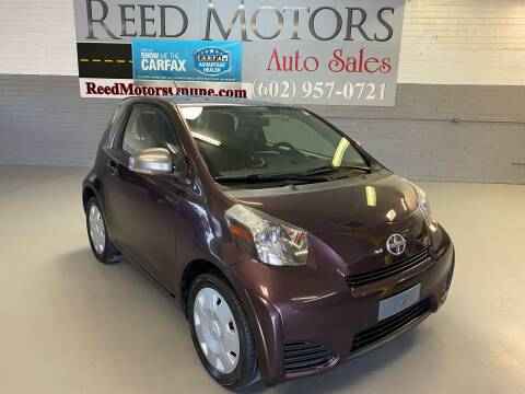 2013 Scion iQ for sale at REED MOTORS LLC in Phoenix AZ