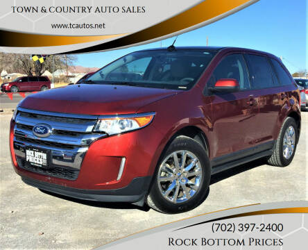 2014 Ford Edge for sale at TOWN & COUNTRY AUTO SALES in Overton NV