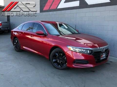 2018 Honda Accord for sale at Auto Republic Fullerton in Fullerton CA