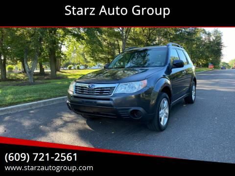2010 Subaru Forester for sale at Starz Auto Group in Delran NJ