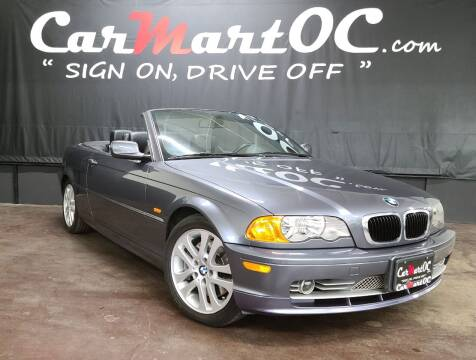2002 BMW 3 Series for sale at CarMart OC in Costa Mesa, Orange County CA