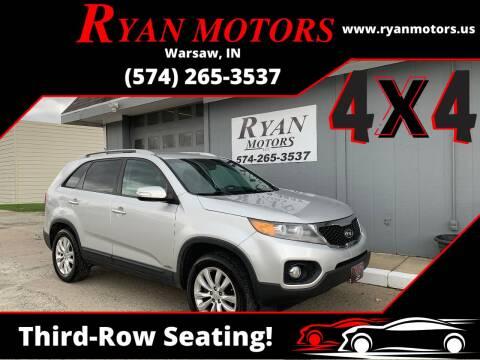 2011 Kia Sorento for sale at Ryan Motors LLC in Warsaw IN