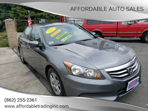 2011 Honda Accord for sale at Affordable Auto Sales in Irvington NJ