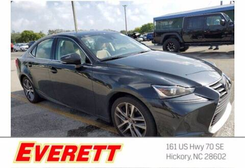 2019 Lexus IS 300 for sale at Everett Chevrolet Buick GMC in Hickory NC