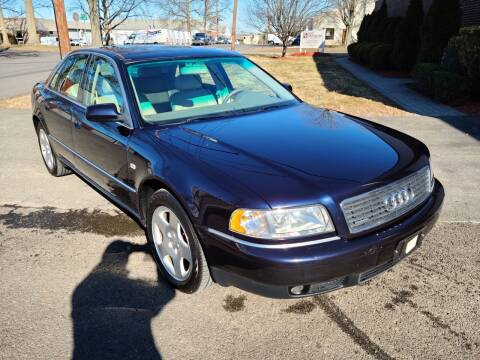 2000 Audi A8 for sale at International Motor Group LLC in Hasbrouck Heights NJ