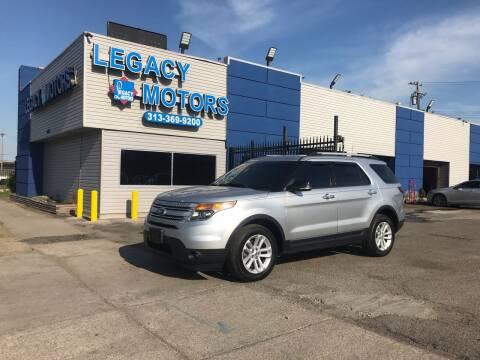 2013 Ford Explorer for sale at Legacy Motors in Detroit MI