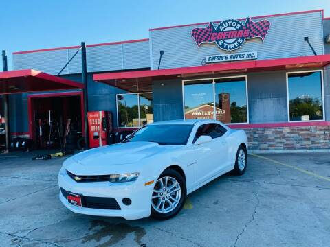2014 Chevrolet Camaro for sale at Chema's Autos & Tires in Tyler TX