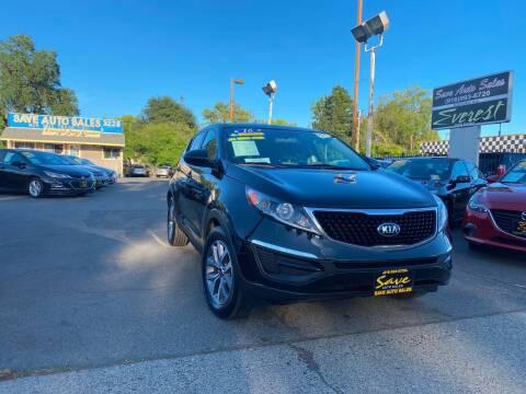 2016 Kia Sportage for sale at Save Auto Sales in Sacramento CA