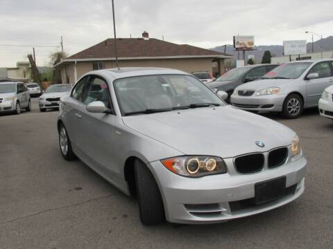 2009 BMW 1 Series for sale at Crown Auto in South Salt Lake City UT