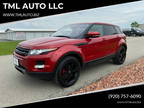 2013 Land Rover Range Rover Evoque for sale at TML AUTO LLC in Appleton WI