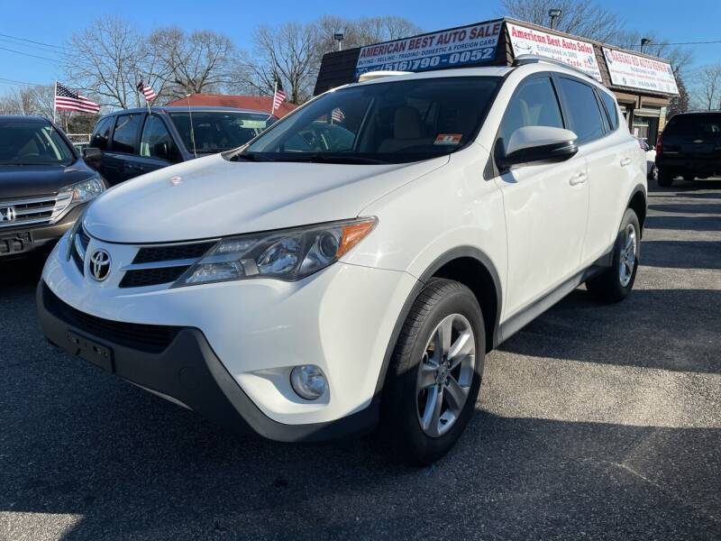 2013 Toyota RAV4 for sale at American Best Auto Sales in Uniondale NY