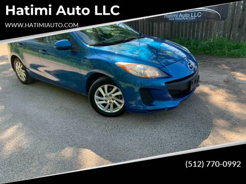 2012 Mazda MAZDA3 for sale at Hatimi Auto LLC in Buda TX