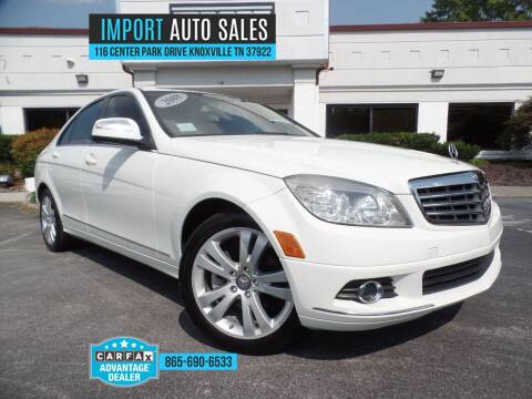 2008 Mercedes-Benz C-Class for sale at IMPORT AUTO SALES in Knoxville TN