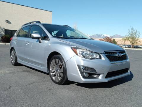 2015 Subaru Impreza for sale at AUTOMOTIVE SOLUTIONS in Salt Lake City UT