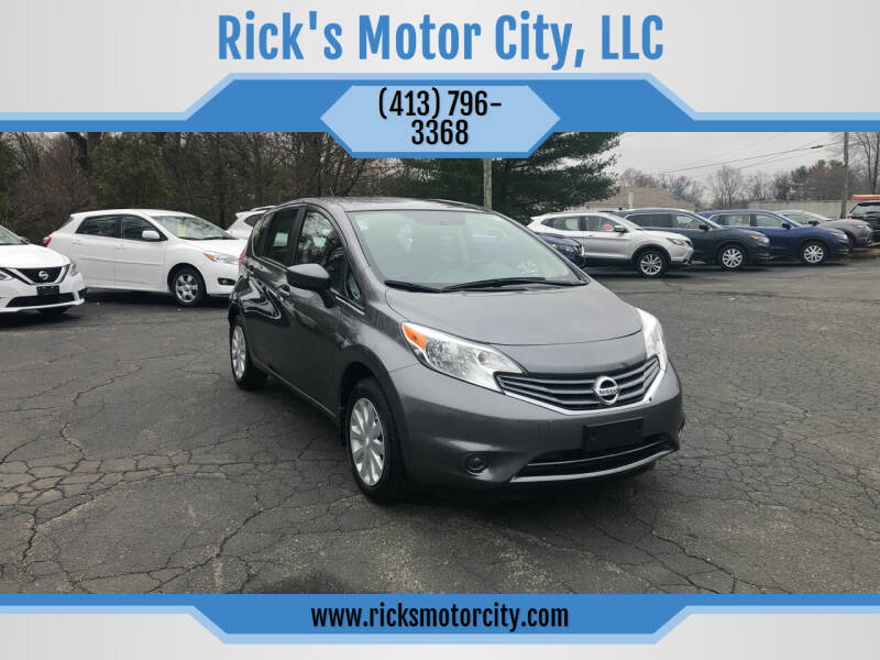 2016 Nissan Versa Note for sale at Rick's Motor City, LLC in Springfield MA