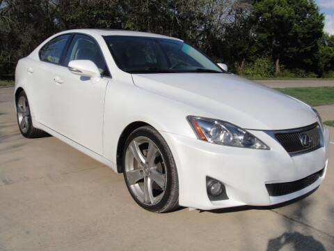 2012 Lexus IS 250 for sale at Coleman Auto Group in Austin TX