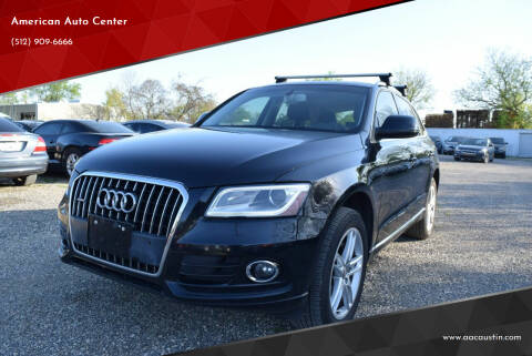 2013 Audi Q5 for sale at American Auto Center in Austin TX