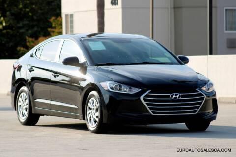 2017 Hyundai Elantra for sale at Euro Auto Sales in Santa Clara CA