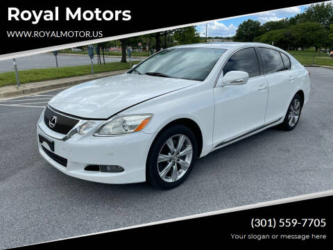 2008 Lexus GS 350 for sale at Royal Motors in Hyattsville MD