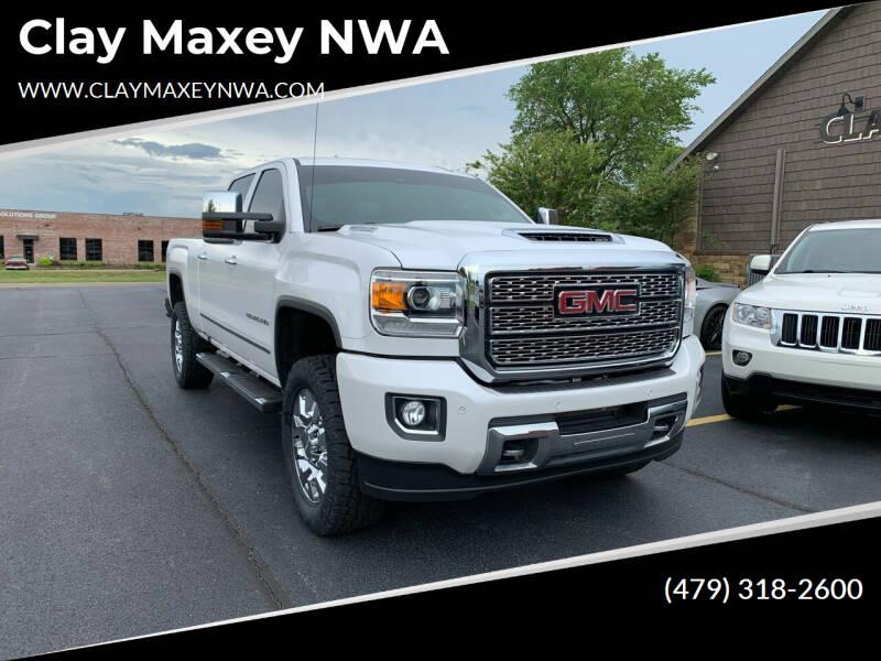 2019 GMC Sierra 2500HD for sale at Clay Maxey NWA in Springdale AR