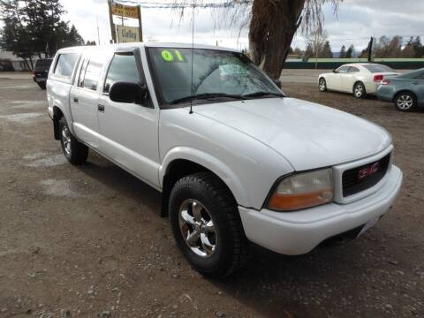 2001 GMC Sonoma for sale at VALLEY MOTORS in Kalispell MT