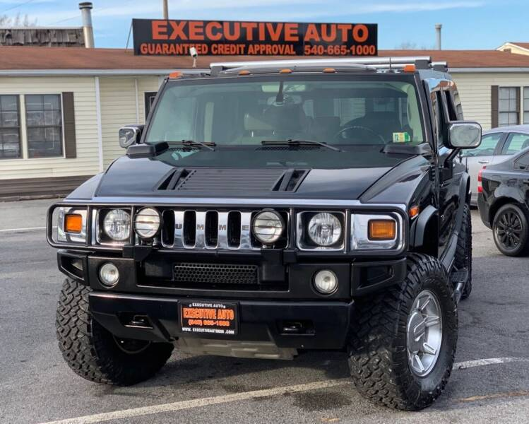2003 HUMMER H2 for sale at Executive Auto in Winchester VA